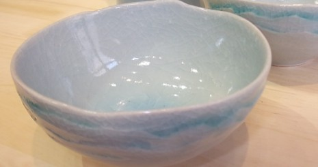 陶芸体験で作る青磁の器