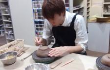 陶芸体験しました。