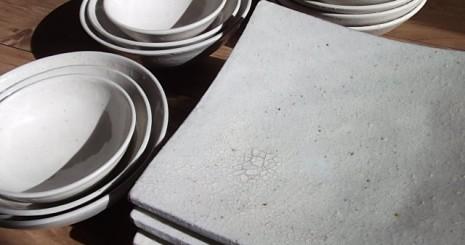 陶芸体験で作った器